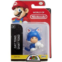 "Figura World Of Nintendo 2.5"" Cat Toad"