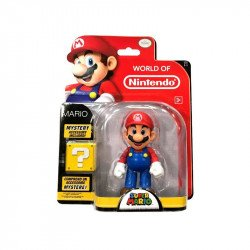 "Figura Nintendo 4"" World Of Nintendo: Mario"