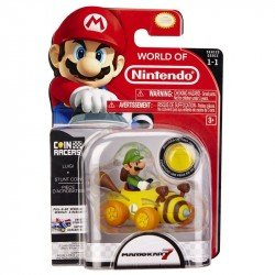 Vehiculo Pullback Coin Racers Mario Kart Nintendo Luigi