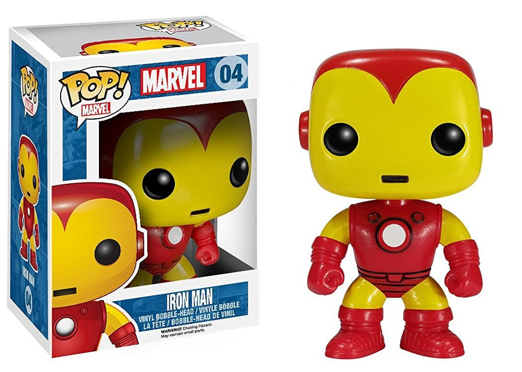 Funko Pop Marvel Iron Man Juguetron
