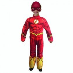 Disfraz Infantil Flash DC Talla 4