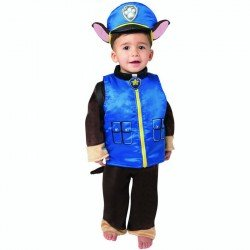 Disfraz Infantil Chase Paw Patrol Talla 2