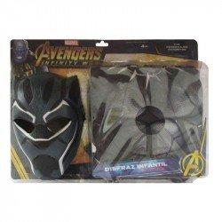 Disfraz Infantil Black Panther Talla 4