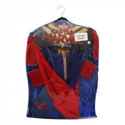 Disfraz Infantil Capitana Marvel Talla 4