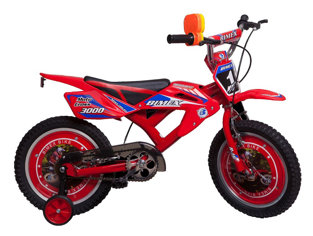 BICICLETA  MOTO CROSS 3000