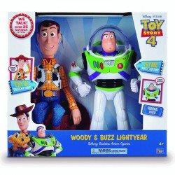 Figura Buzz Y Woody Amigos Parlantes 2 Pack