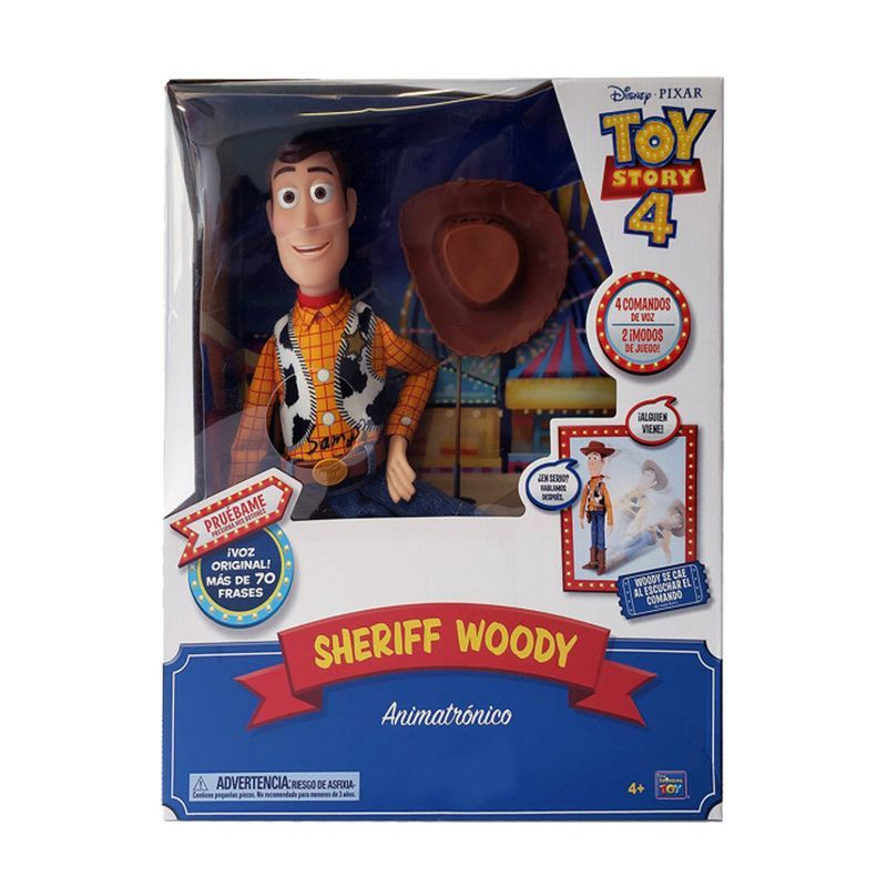 Figura Sheriff Woody Animatronico