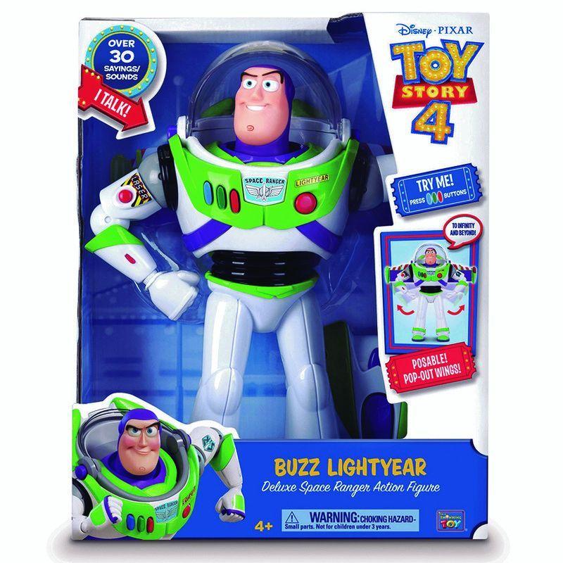 Figura Buzzlightyear De Lujo