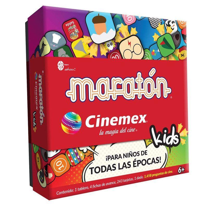 Juego de Mesa Maraton Cinemex Kids