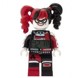 LEGO BATMAN MOVIE HARLEY QUINN MINIFIGURA DESPERTADOR