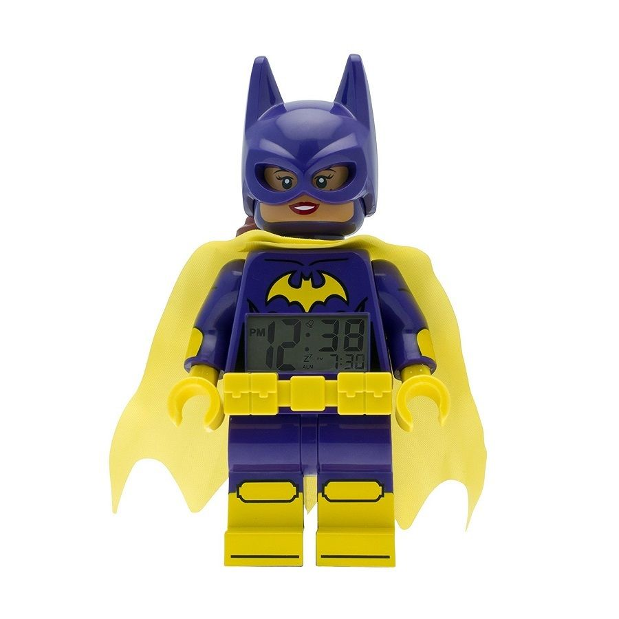 LEGO BATMAN MOVIE BATGIRL MINIFIGURA DESPERTADOR