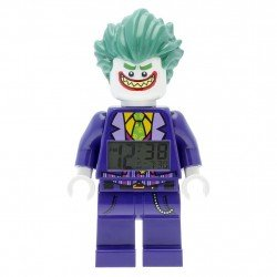 LEGO BATMAN MOVIE THE JOKER MINIFIGURA DESPERTADOR