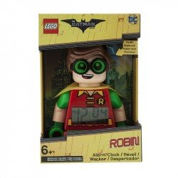LEGO BATMAN MOVIE ROBIN MINIFIGURA DESPERTADOR