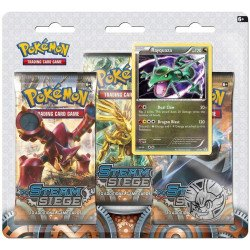 Pokemon XY Steam Siege 3-Pack Blister Rayquaza