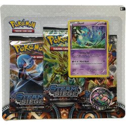 Pokemon XY Steam Siege 3-Pack Blister Azelf