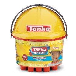 TONKA 3 IN 1 BUCKET OF BLOCKS 25 PC 2 STYLE ASSORTMENT: FI