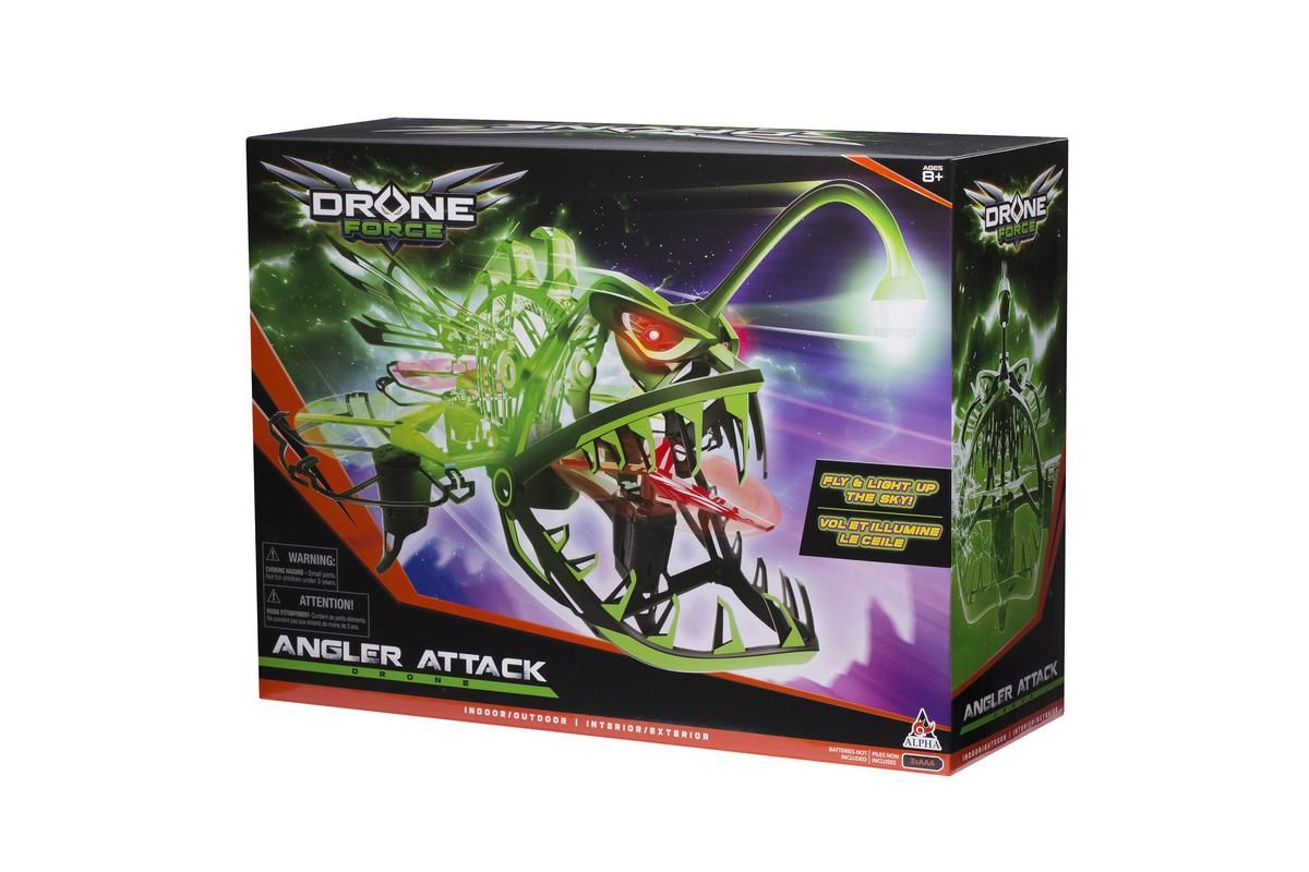 Drone Force Angler Attack