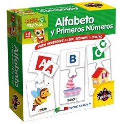 ALFABETO Y PRIMEROS NÚMEROS