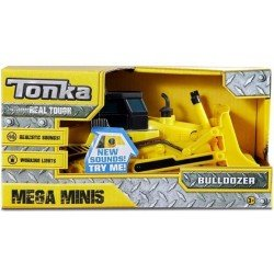 Tonka Mega Minis Construcción Bulldozer