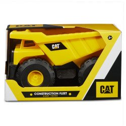 "Vehículo Cat Tough Tracks Construction Crew 10"" Dump Truck"