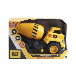 Vehículo Power Haulers CAT Mezcladora de Cemento