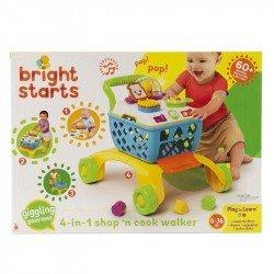 Juguete Interactivo Carrito de Compras 4 en 1 Bright Starts