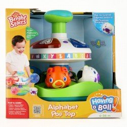 Juguete Interactivo Having A Ball Alphabet Pop Top Bright Starts