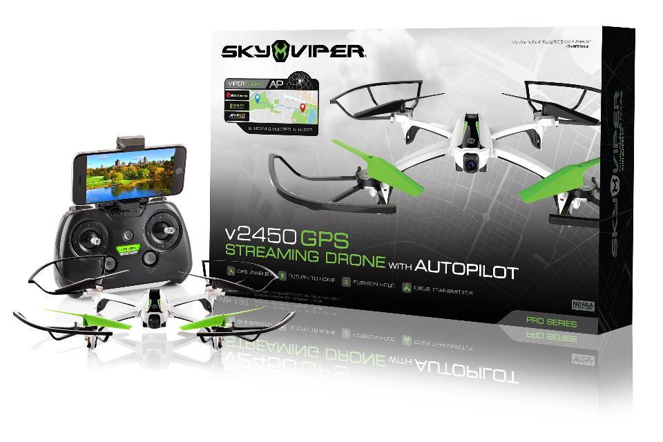 SKY VIPER CON GPS TRANSMISION EN VIVO