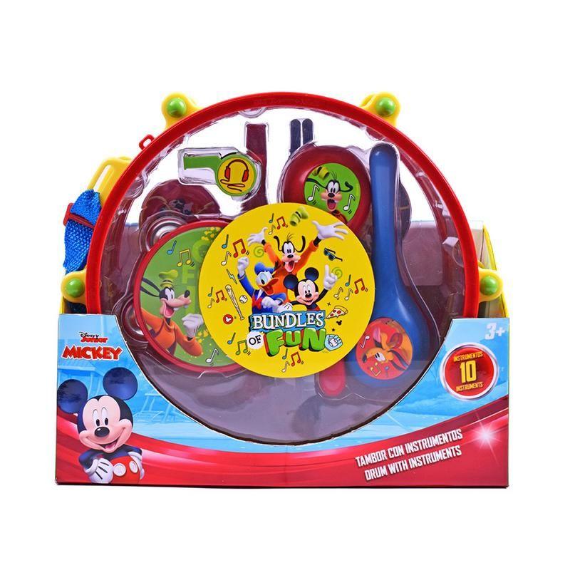 Tambor con Instrumentos Musicales de Mickey