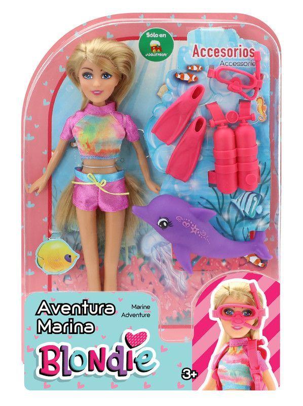 Muñeca Blondie 10203A Aventura Marina