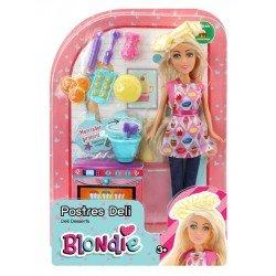 Muñeca Blondie 10204A Postres Deli