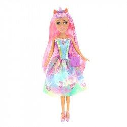 Muñeca Blondie 10206 Hadas Arcoíris Rosa Pastel