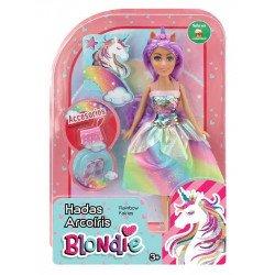 Muñeca Blondie 10206 Hadas Arcoíris