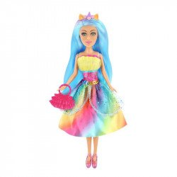 Muñeca Blondie 10206 Hadas Arcoíris Azul