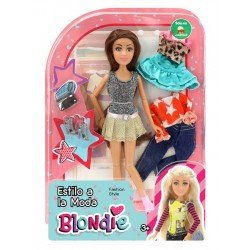 Muñeca Blondie 10207 Estilo A La Moda
