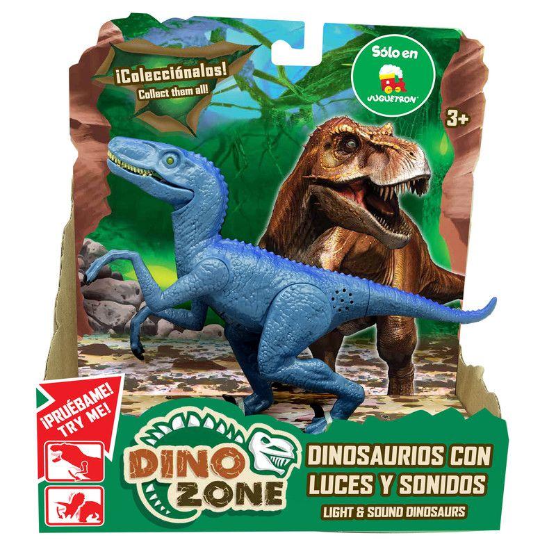 Dino Zone 10402 Dinosaurios Con Luces Y Sonidos