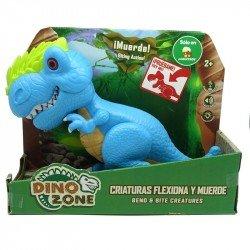Dino Zone Criaturas Flexiona y Muerde Juguetron Allosaur
