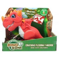 Dino Zone Criaturas Flexiona y Muerde Juguetron Dragon