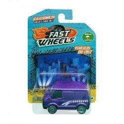 Fast Wheels Coche Basico Camioneta Morada