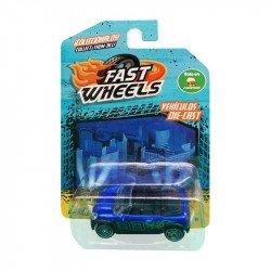 Fast Wheels Coche Basico Camioneta Azul 33