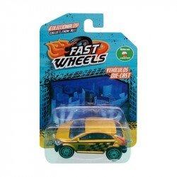 Fast Wheels Coche Basico Carro Dorado