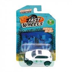 Fast Wheels Coche Basico Camioneta Blanca Medica