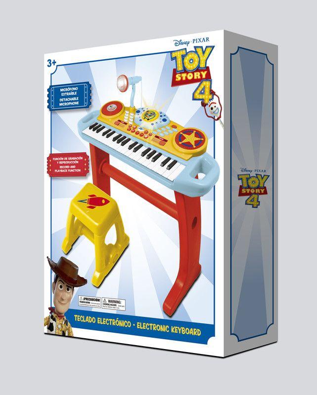 Toy Story 10602B Teclado Toy Story 4