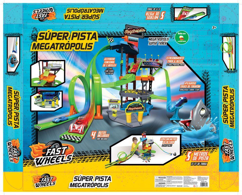 Importación 10610 Super Pista Megatropolis