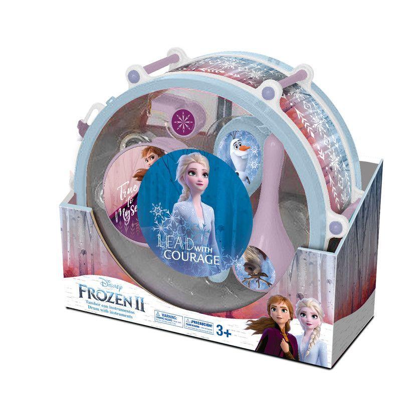 Frozen 10703B Tambor Musical Frozen 2