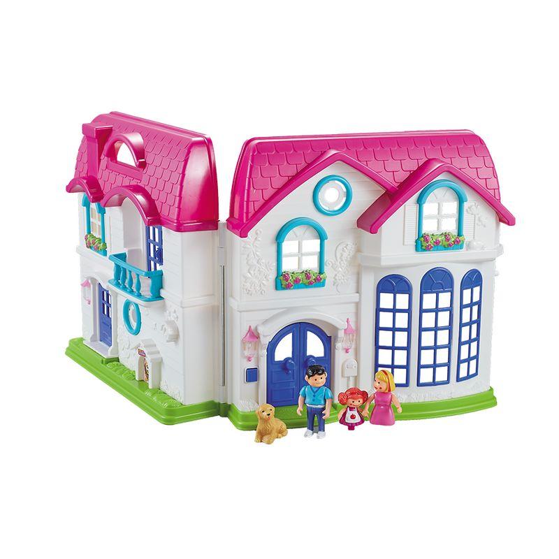 Casa de Muñecas Mi Dulce Hogar Happy Home