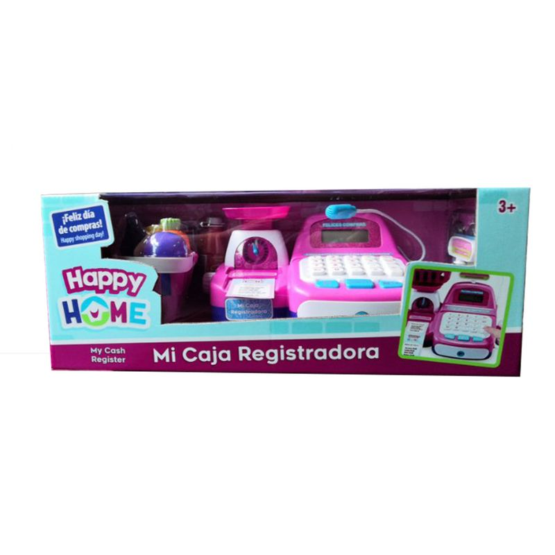 Caja Registradora de Juguete Happy Home