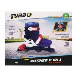 Patines 2 En 1 Turbo