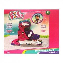 Patines 2 En 1 Pop Rolly