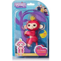 Muñeco Fingerlings Monkeys Bella